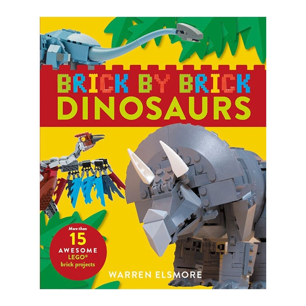 BRICK BY BRICK DINOSAURS