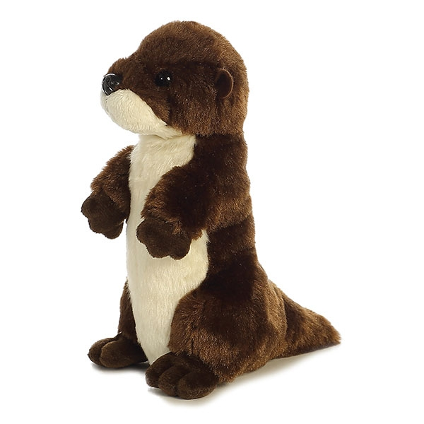 RIVER OTTER STANDING MINI FLOPSIE PLUSH