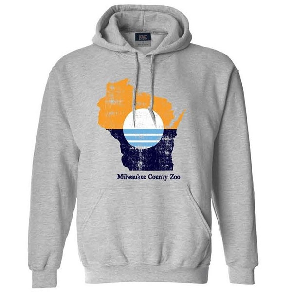 HOOD ADULT MILWAUKEE FLAG HEATHER