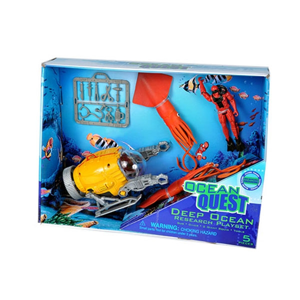 OCEAN QUEST MOVABLE DEEP RESCUE PLAYSET