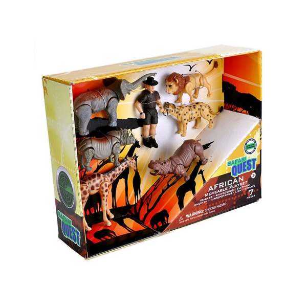 SAFARI QUEST MOVEABLE PLAYSET