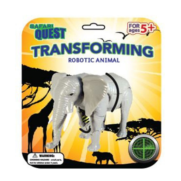 SAFARI QUEST TRANSFORMING ELEPHANT
