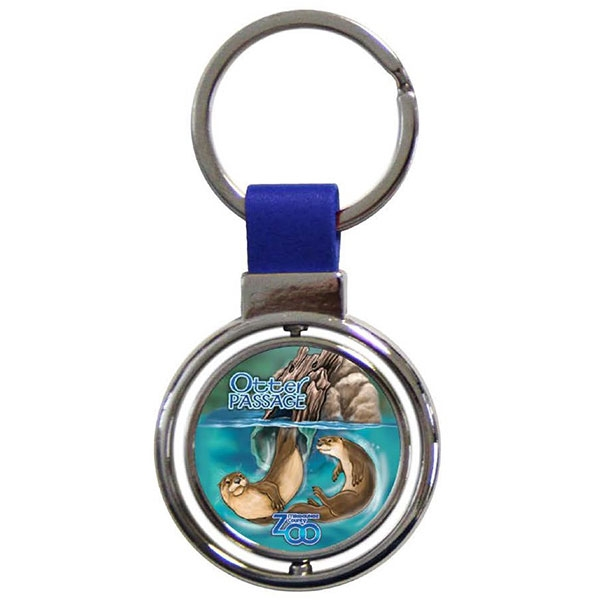 RIVER OTTER PASSAGE KEY CHAIN