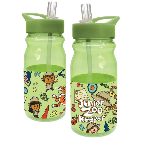 WATER BOTTLE JR ZOO KEEPER