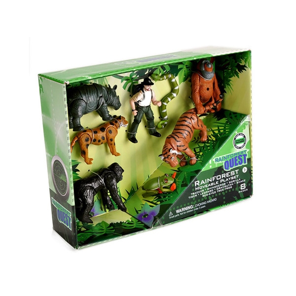 RAINFOREST QUEST E-TEAM PLAYSET