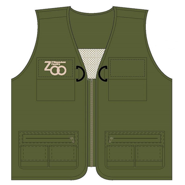 YOUTH ZOOKEEPER VEST OLIVE
