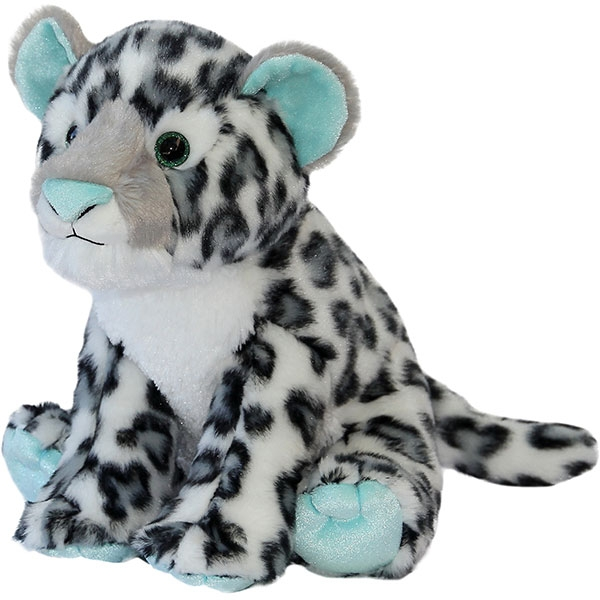 SNOW LEOPARD MINT PLUSH