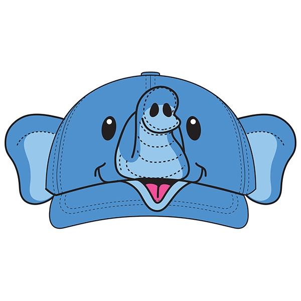 TODDLER BASEBALL HAT ELEPHANT EARS