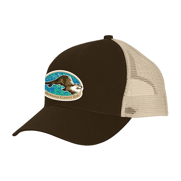 ADULT BASEBALL HAT RIVER OTTER